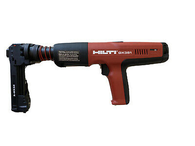 HILTI DX351 DX 351 Powder Actuated Gun Tool W/ X-MX32 Nail Magazine
