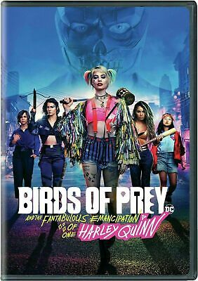 Birds of Prey (DVD.2020) NEW Action, Adventure In Stock Now Shipping!