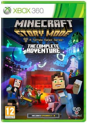 Minecraft Story Mode: The Complete Adventure - Xbox 360 Disc Proff Restored