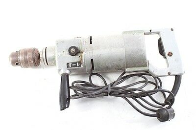 Old GDR Electric Drilling Machine Type SBB 161 Fully Functional