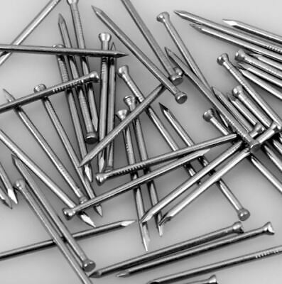 STAINLESS ST|EEL PANEL PINS, PICTURE TACKS, HARDBOARD NAILS 20mm,25mm,40mm