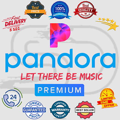 Pandora Premium Subscription Account 📻 Lifetime Warranty 😲 Instant Delivery