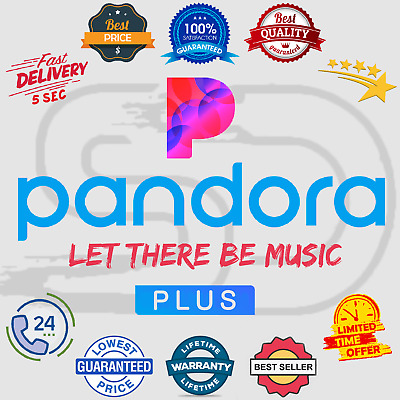 Pandora Plus Subscription Account 📻 Lifetime Warranty 😲 Instant Delivery 5 Sec