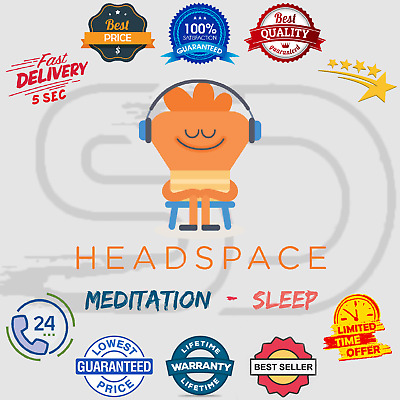 Headspace Lifetime Subscription Account 🎵 Mediation / Sleep ✔️ Instant Delivery