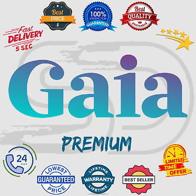 Gaia Premium Subscription Account 🎵 Lifetime Warranty 😲 Instant Delivery 5 sec