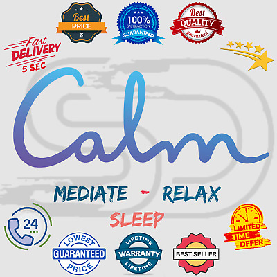 Calm App Premium Subscription Account 🎵 Mediate / Sleep / Relax 😲 Lifetime