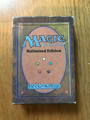 Magic the Gathering UNLIMITED Starter Deck VIDE - EMPTY
