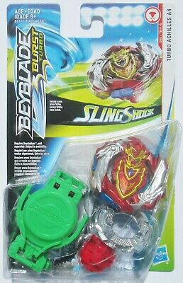 ++ Beyblade Burst TURBO Sling Shock - Turbo Achilles A4 - SHIPS IN A BOX