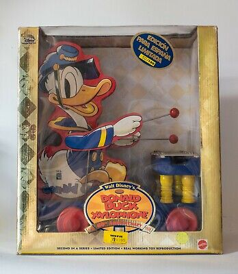 Donald Duck MATTEL Disney Collector Toys; Pato Donald Mattel Edición Limitada