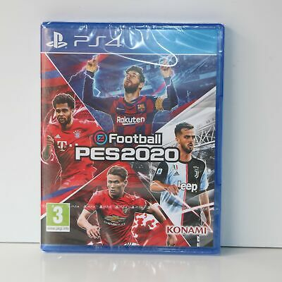 PES2020 - Pro Evolution Soccer 2020 - efootball - Sony PS4 Game - New & Sealed