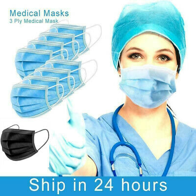 20 X FACE MASK Surgical 3 Ply Earloop Medical Mask Anti-virus&Bacterial