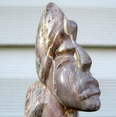 Elongated Skull ? Mayan ?? Pre-Columbian ?? Vintage / Antique Stone Carving