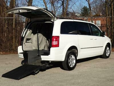 2010 Chrysler Town & Country Touring HANDICAP WHEELCHAIR POWER RAMPVAN 92K Mls! FITS 2 WHEELCHAIRS REAR ENTRY RAMP VAN POWER SLIDING DOORS VISION MOBILITY WORKS