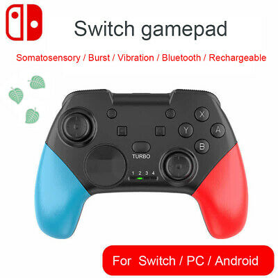 Game Controller Gamepad Joystick  Wireless Bluetooth  Remote for Switch NEW
