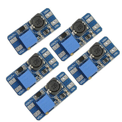 5PCS MT3608 DC-DC 2A Step Up Boost Power Supply Adjustable Converter Module C#