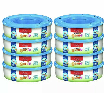 Playtex Diaper Genie Refill Gift Set 2160 Diapers Great For Baby (Pack Of 8)