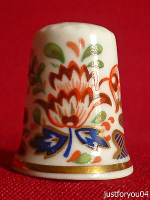 Royal Worcester Historic Patterns : Finger and Thumb Collectors Thimble