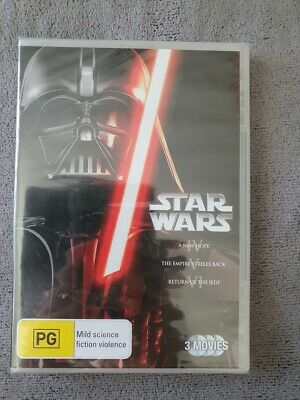 Star Wars Trilogy A New Hope Dvd New & Sealed