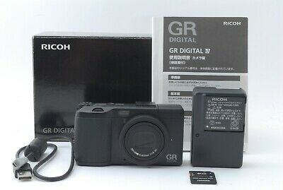 Near Mint Ricoh GR Digital IV 10.4MP Digital Camera w/ original box From Japan