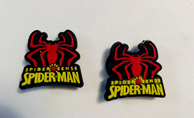Spiderman Charm Set For Your Crocs Shoe Jibbitz Bracelet Wristband