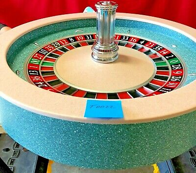 Roulette Wheel  32 Inch (Used) T-0022 Paulson  0/00