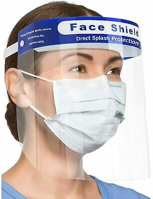 [US STOCK] Face Shield w/ Clear Wide Visor Spitting Anti-Fog Lens [SHIP IN 24HR]
