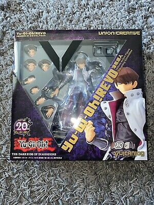 Yu-Gi-Oh Revoltech Vulcanlog The Dark Side of Dimensions Seto Kaiba Authentic US