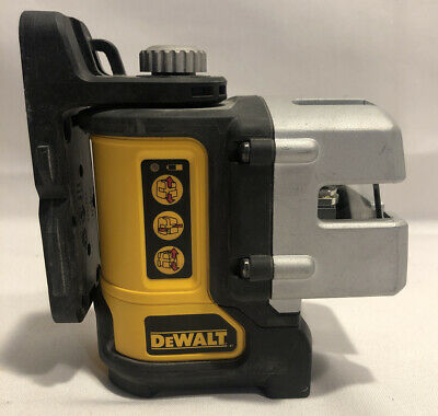 Dewalt Dw089 3 Beam Line Laser With Magnetic Mount In Case
