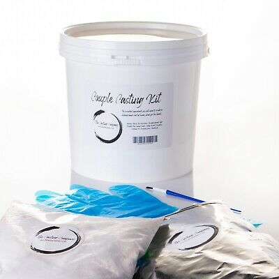 Casting kit - All in one bucket, alginate, casting, plaster, 2 to 3 Hands