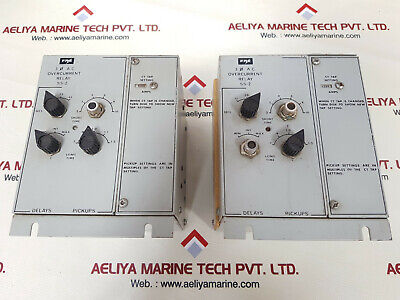 Fpe ss-2 overcurrent relay 1200 amps