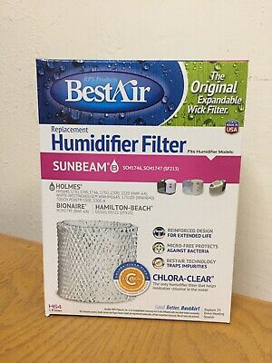 BEST AIR RPS H64 C Humidi Wick Humidifier Wick Filter Pad