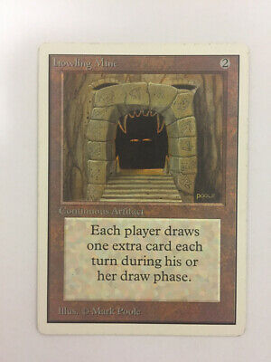 MTG Magic The Gathering Howling Mine Sixth 6th Chinese LP