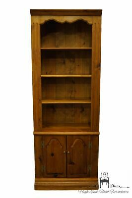 """HABERSHAM PLANTATION Solid Pine Rustic Country Style 30"""" Bookcase Wall Unit"""