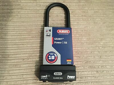 Abus Granit Power 58 U-Shackle (310x83x16mm)