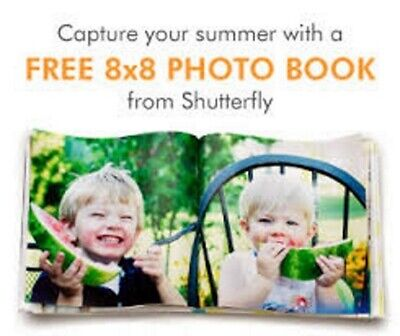 Shutterfly 8x8 Hard Cover Photo Book Coupon (Exp 06/30/20)