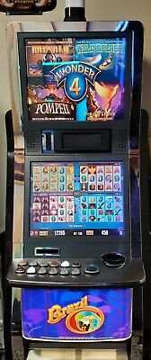 Aristocrat Viridian Mk7 All Stars Slot Machine W Red Wide Screen Cpu Super Clean