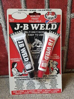 J-B Weld 8265S Original Cold-Weld Steel Reinforced Epoxy - 2 oz. NOS NEW vintage