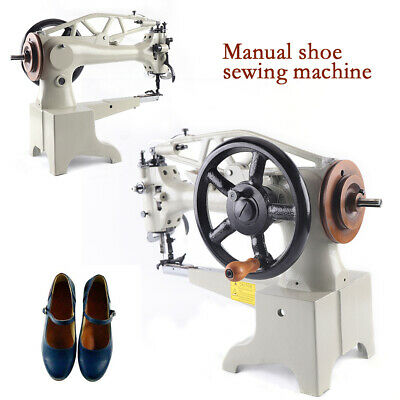 US Manual Shoe Making Sewing Machine Shoes Leather Repairs Sewing Equipment