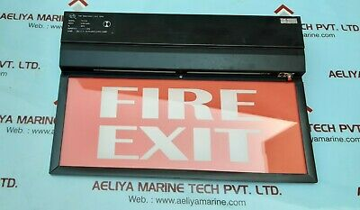 Pne tex108 emergency exit sign board 230v 60hz