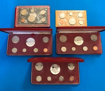 5 ~  Republic of Liberia Proof Coin Sets in Original Mint Packaging           m3