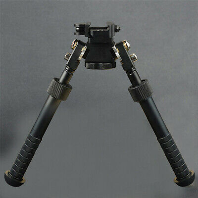 "4""-9"" Rifle Bi-pod CNC QD Tactical Picatinny Rail Flat Adjustable Hunting Tripod"