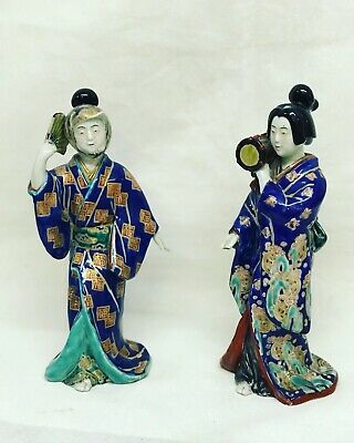 Pair Of Antique Japanese Figures