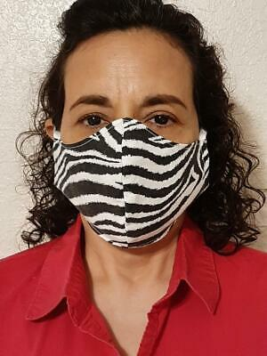 Cloth Face Mask With Filter Pocket - Leopard and other Animal Prints