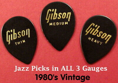 Ref: Kay Nylon Picks Vintage Guitar Picks 4 CMS Whales All Gauges c 1969