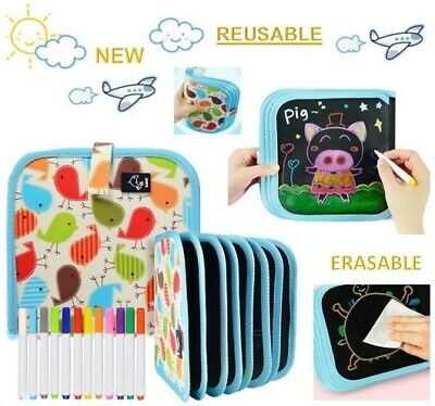Educational Toys for Kids Age 3 4 5 6 7 8 Years Old Boys Girls Magic Booklet Pad