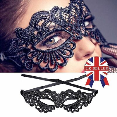 BN Ladies Fox Lace Mask Eye Mask For Masquerade Ball Party Halloween Costume