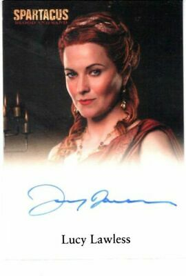 Xena - Lucy Lawless As Lucretia - Spartacus Blood & Sand Autograph Card #1 Rare
