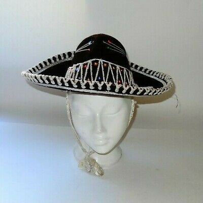 Vintage, Childs, Mexican sombrero. Size 6 1/2 ''.