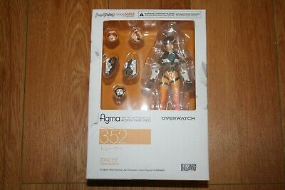 Overwatch Tracer Figma Action Figure 352 Good Smile Company Brand New Authentic
