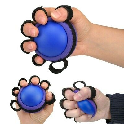 Hand Grip Ball Finger Practice Exercise For Muscle Power Rubber Training Gripper